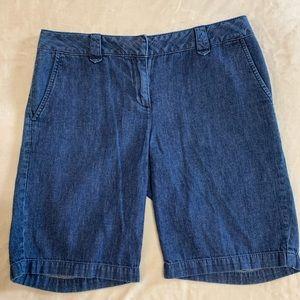 Talbot 9 inch denim trouser shorts